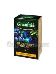 Чай Greenfield Blueberry Nights 100 гр