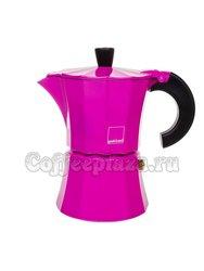 Гейзерная кофеварка Morosina Фуксия 3 порции