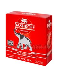 Чай Bashkoff Red Edition черный в пакетах 100 шт