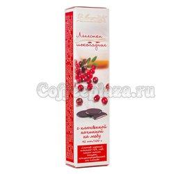 D.Munger Шоколадные лепестки с клюквой 100 гр