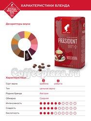 Кофе Julius Meinl в зернах President Classico Collection 1 кг