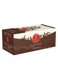 Чай Julius Meinl Ассам с чабрецом черный 25 пакетов