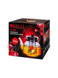 Чайник стеклянный Kelly KL-3005  0,6 л