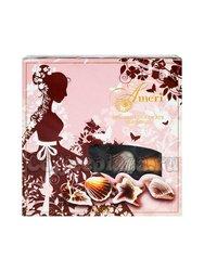 Ameri Шоколадные конфеты с начинкой пралине 250 г розово-коричневая девочка