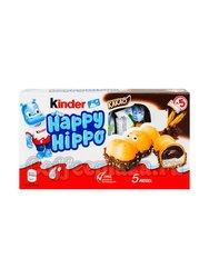 Батончики Kinder Happy Hippo Cacao 103 г (Бегемотик )