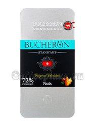 Bucheron Standart Горький Шоколад с орехами 100 г ж.б.