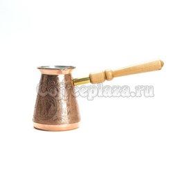 Турка Москва 420 мл М420С , съемная ручка