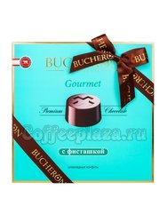 Bucheron Gourmet Кофеты шоколадные с фисташкой 180 гр