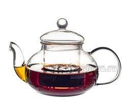 Чайник заварочный Шафран стекло 500 мл E-038A