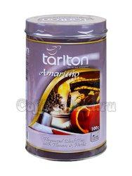 Чай Tarlton Амаретто черный 100 г ж.б.
