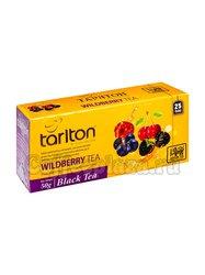 Чай Tarlton Дикая ягода черный чай 25 пак