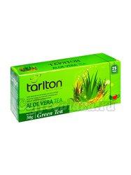 Чай Tarlton Алое вера зеленый в пакетиках 25 шт