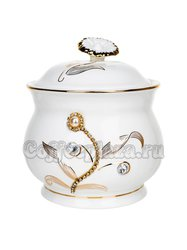 Чай Tarlton черный ОПА 100 г + Сахарница керамическая