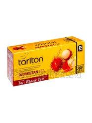 Чай Tarlton Рамбутан черный в пакетиках 25 шт