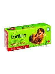 Чай Tarlton Поцелуй навсегда зеленый чай 25 пак