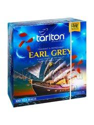 Чай Tarlton Earl Grey черный в пакетиках 100 пак