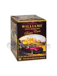 Чай Williams Солнечный бульвар (Retro Cars) черный Оранж Пеко 125 г