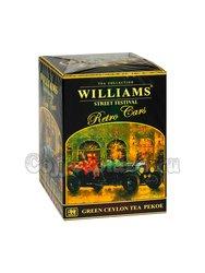 Чай Williams Уличный Фестиваль (Retro Cars) зелёный Пеко 200 г