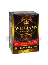 Чай Williams Royal Ceylon черный Супер Пеко 200 г