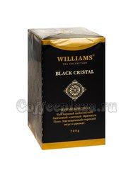 Чай Williams Black Crystal (Черный Кристалл) черный Пеко 200 г