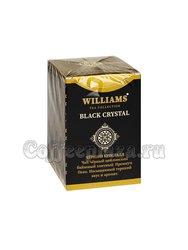 Чай Williams Black Crystal (Черный Кристалл) черный Пеко 100 г