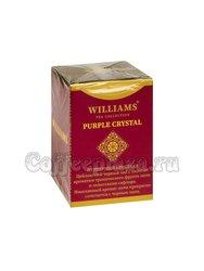 Чай Williams Purple Crystal (Пурпурный Кристалл) черный с личи и сафлором 100 г