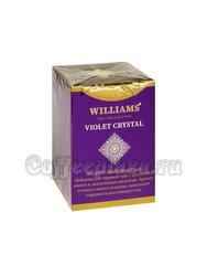 Чай Williams Violet Crystal (Фиолетовый Кристалл) черный с манго и лепестками василька 100 г