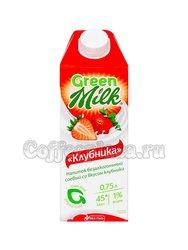 Растительный напиток Грин Милк Клубника 0,75л