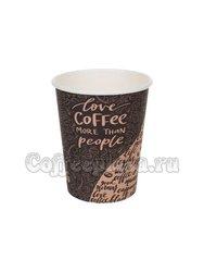 Стакан бумажный D.R.V. Coffee 250 мл D80 (50 шт)