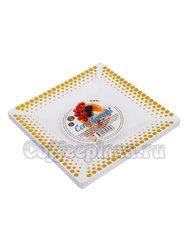 Complement Тарелка Квадратная Белая Золотой декор 165*165 мм (1уп-6шт)