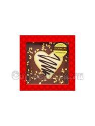 Шоколадное изделие Chokodelika Сердце в шоколаде с карамелью 90 г