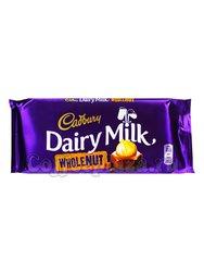 Шоколад Cadbury Whole Nut плитка 120 г