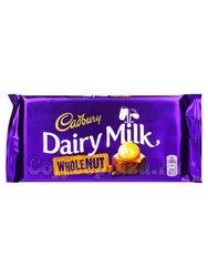 Шоколад Cadbury Whole Nut плитка 200 г