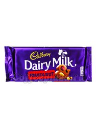 Шоколад Cadbury Fruit&Nut плитка 110 г