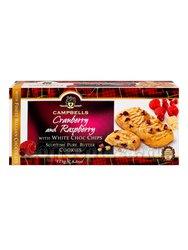 Campbells Песочное печенье с кусочками шоколада, малиной и клюквой 125 г