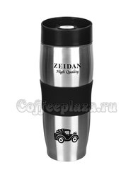 Zeidan Термокружка с крышкой, 420 мл с двойными стенками черный (Z-9044-03)