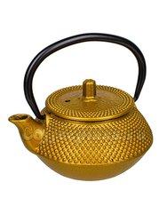 Чайник чугунный желтый/металлик 300 мл (SLJ-352/1)