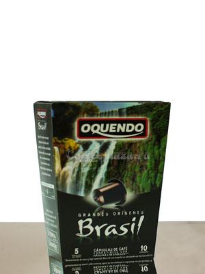Кофе в капсулах Oquendo Brasil для Nespresso
