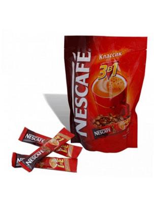 Кофе Nescafe Classic 3 в 1 20 шт по 16 гр