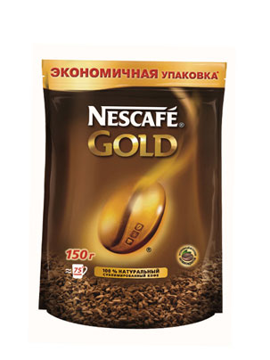 Кофе Nescafe Gold 150 гр