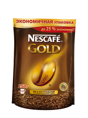 Кофе Nescafe Gold 250 гр