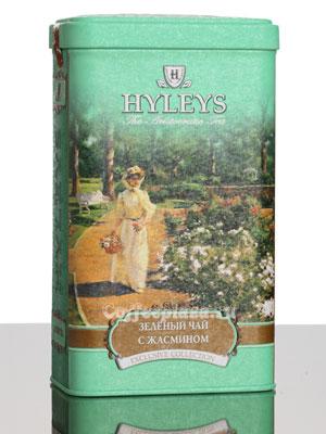 Чай Hyleys Зеленый с жасмином 125 гр