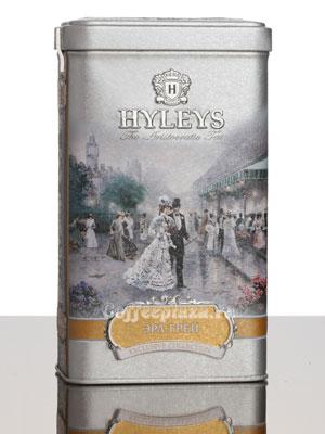 Чай Hyleys Эрл Грей крупнолист. 125 гр ж/б