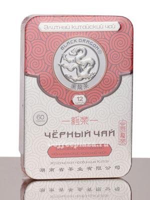 Чай Черный Дракон Прессованный черный чай 60 гр ж/б
