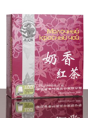 Чай Черный Дракон Молочный красный 100 пакетиков