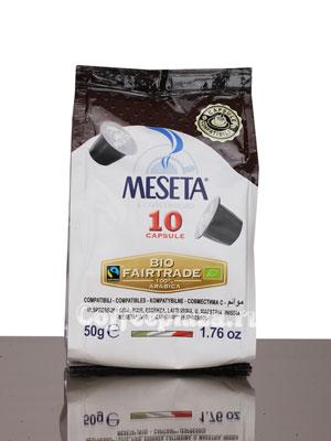 Кофе Meseta в капсулах Bio Fairtrade & Organic (для Nespresso)