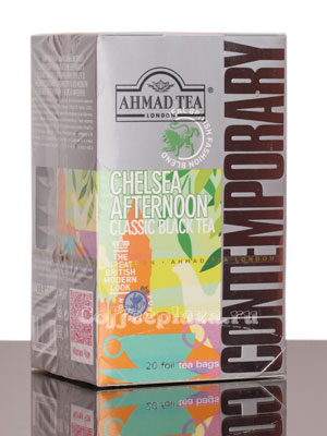 Чай Ahmad Tea Chelsea Afternoon. Ахмад Челси Афтенун в пакетиках