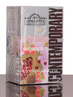 Чай Ahmad Tea Pomegranate Love. Ахмад Памгранат Лав в пакетиках