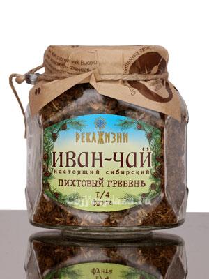 Река жизни Иван-Чай Пихт. Гребень стекло 112 гр
