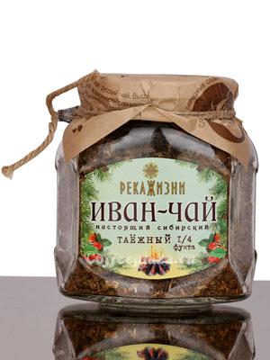 Река жизни Иван-Чай Таежный стекло 112 гр